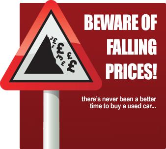beware of falling prices!